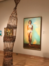 """""""Donna is so strong and self contained that these forms are a natural extension of one another. This whole exhibit is brilliant."""""""